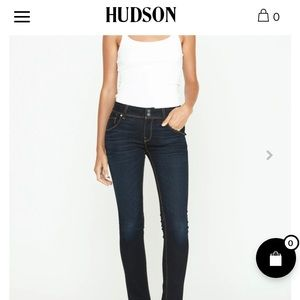 🆕HUDSON Collin Mid Rise Skinny Jeans🆕